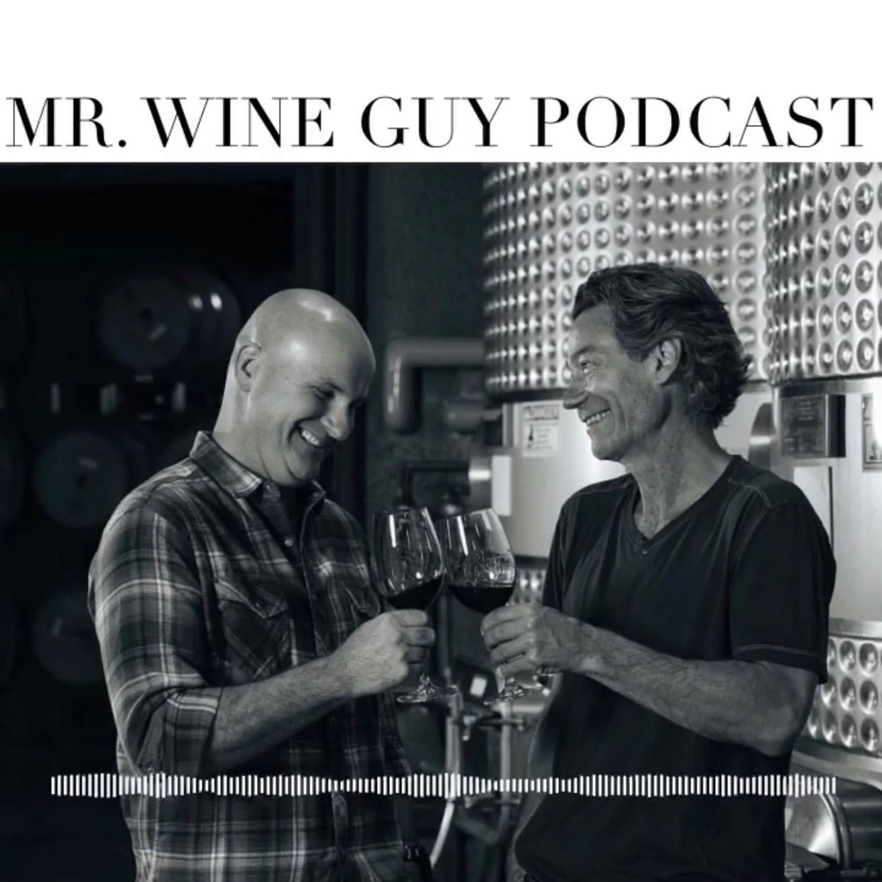 Jnani Matson And John Boich Toasting For Mr. Wine Guy Podcast